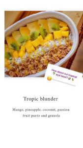 Tropic Blunder is a preferred bowl