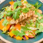 Thai-based salad with chicken