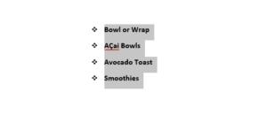 bowl & blade menu to order food online
