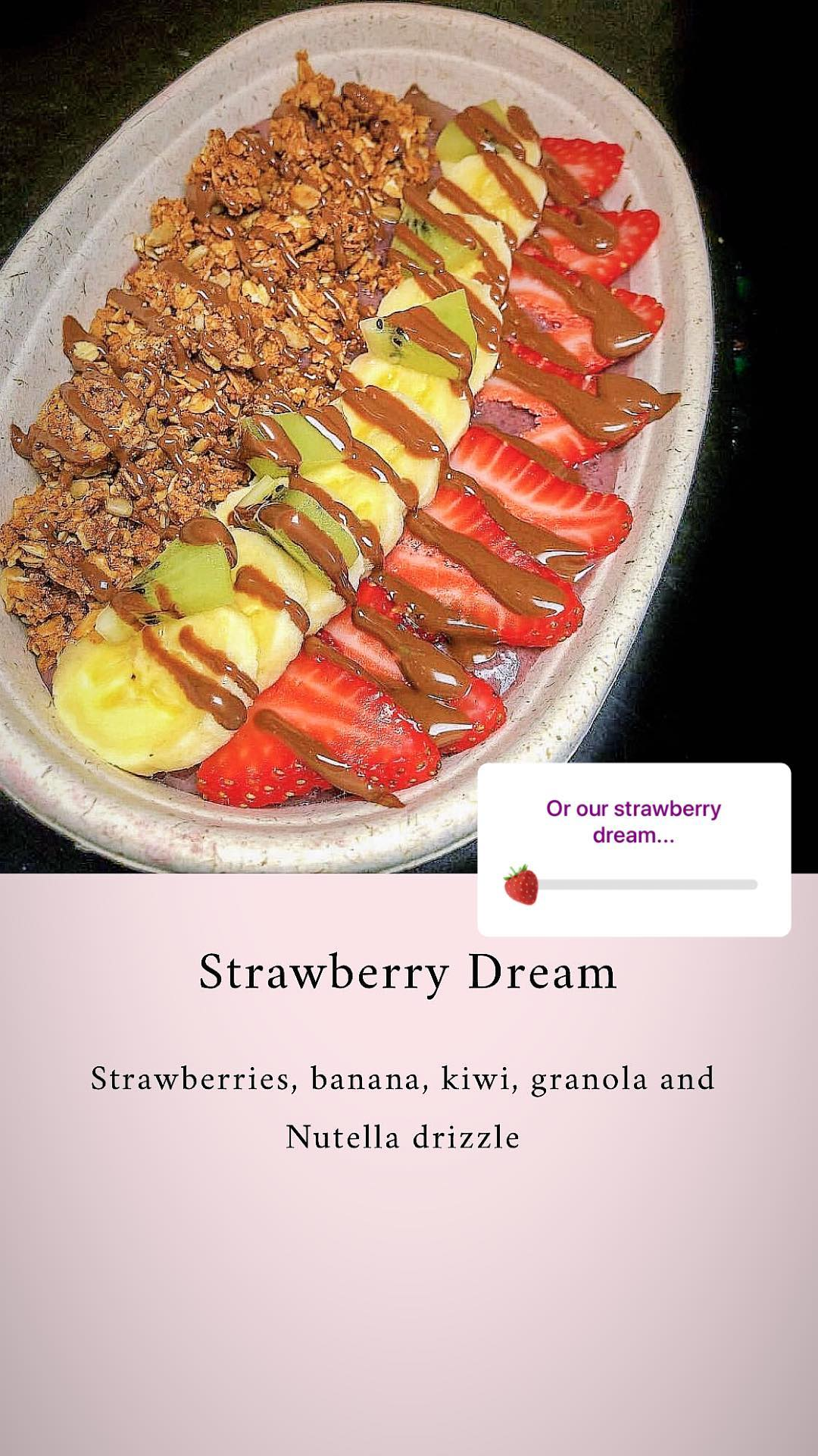 Buy strawberry acai bowl from brooklyn